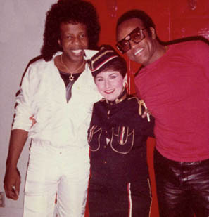 Sly Stone, Stephanie Bennett, Bobby Womack