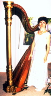 Antique Gilded Lyon & Healy 20 harp (with Stephanie Bennett)